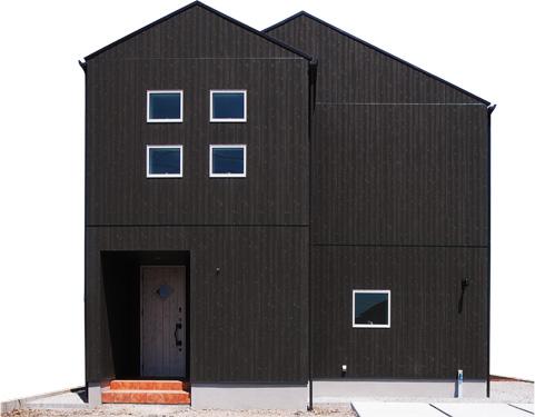 江戸川区の注文住宅工務店 ニットー住宅のガルバリウム鋼板のお家