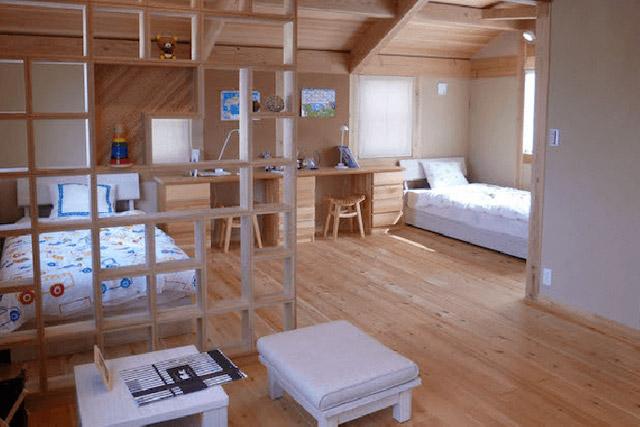 江戸川区の注文住宅工務店ニットー住宅の施工事例 自然素材をふんだんに使った体に優しい家
