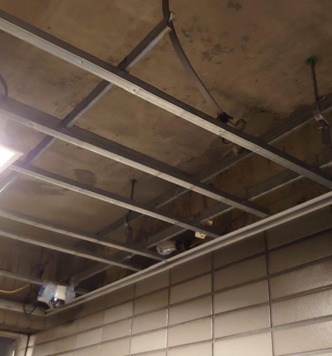 江戸川区で注文住宅を建てる工務店ニットー住宅 マンション天井