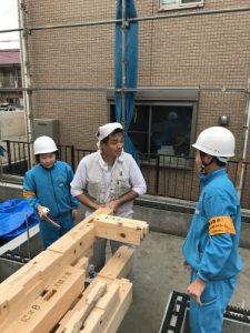 江戸川区注文住宅工務店 職業体験2