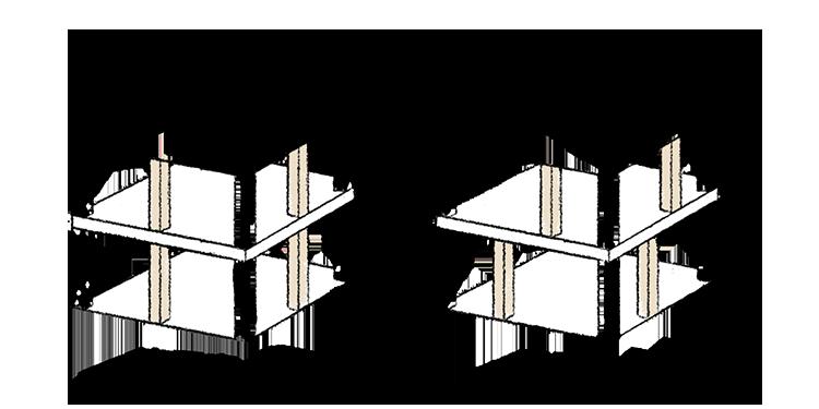 江戸川区で自然素材の注文住宅を建てるニットー住宅 直下率60%以上
