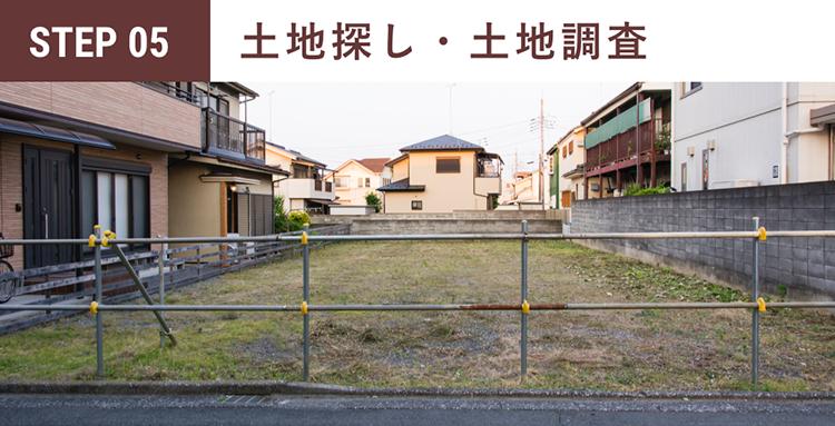 //4.土地探し・土地調査//