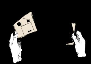 江戸川区で自然素材の注文住宅を建てるニットー住宅 わかりやすいスケッチや図面