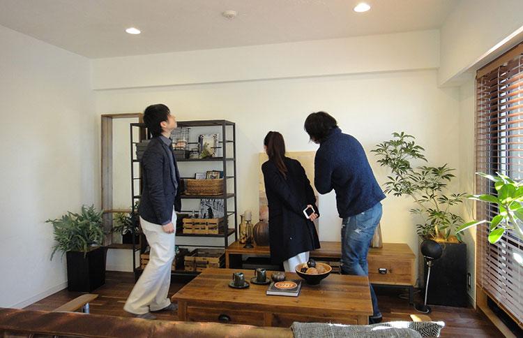 江戸川区で自然素材の注文住宅を建てるニットー住宅 見学会の様子
