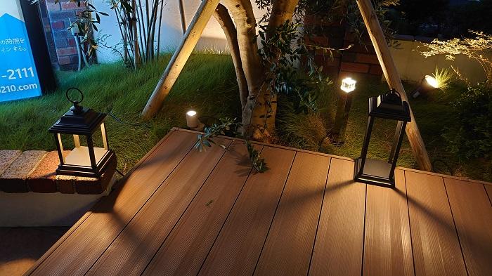 江戸川区でこだわりの自然素材を使った注文住宅を建てる工務店ニットー住宅 エクステリア 照明計画