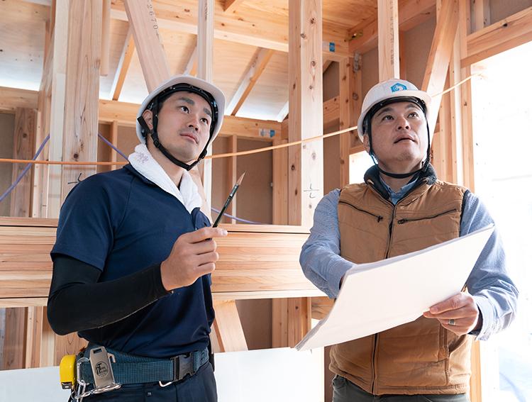 江戸川区で自然素材の注文住宅を建てるニットー住宅 建て方