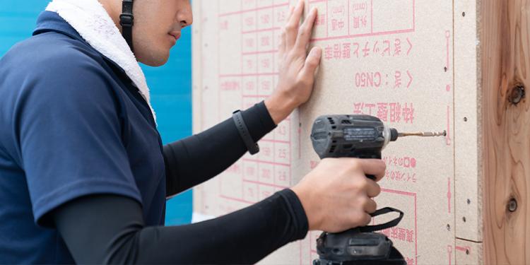江戸川区で自然素材の注文住宅を建てるニットー住宅 木製パネルのノボパン