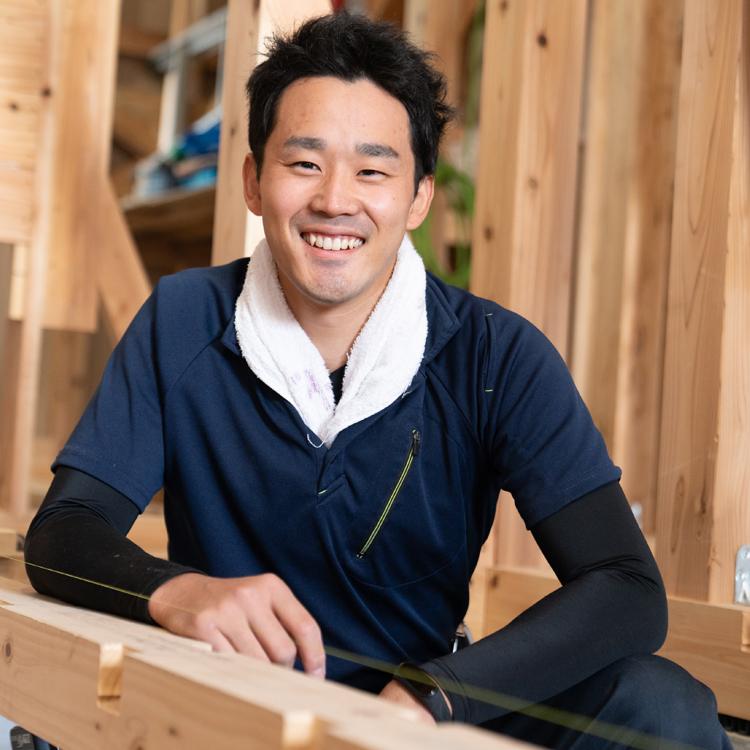 江戸川区で自然素材の注文住宅を建てるニットー住宅 スタッフ 坂川遼-サカガワハルカ