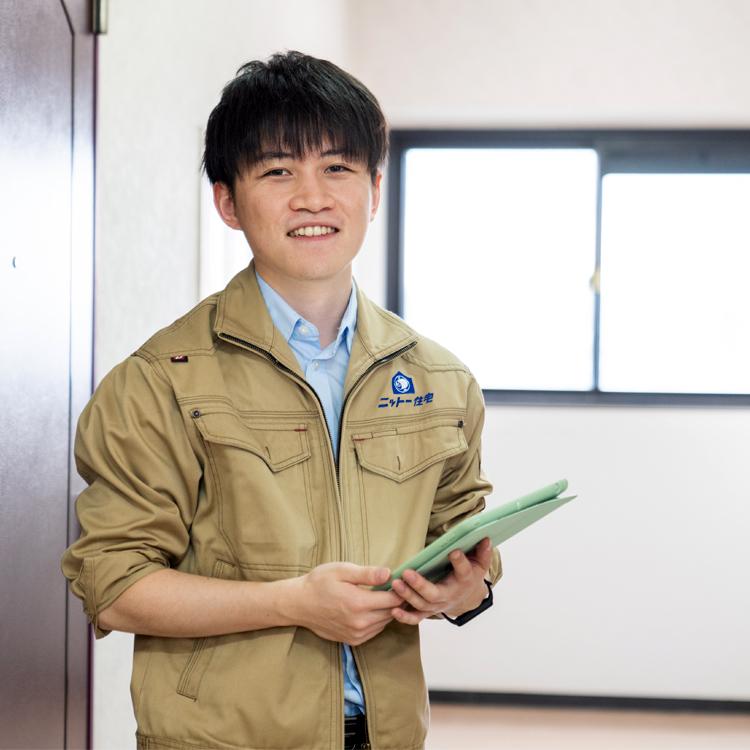 江戸川区で自然素材の注文住宅を建てるニットー住宅 スタッフ 牛山雅啓-ウシヤママサヒロ