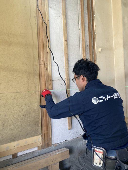 江戸川区で注文住宅を建てるニットー住宅のリフォーム工事