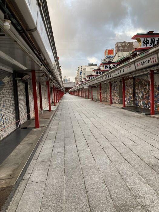 江戸川区で自然素材を使った注文住宅を建てる工務店ニットー住宅牛山が撮った浅草寺の写真