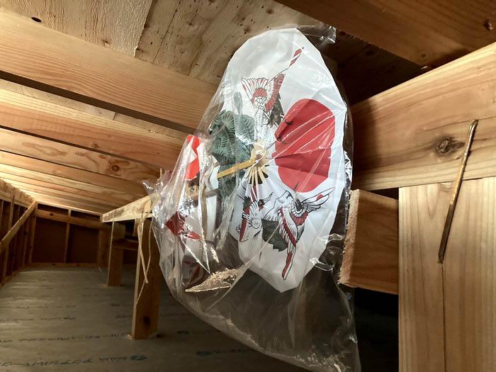 江戸川区で自然素材をふんだんに使用した注文住宅を建てるニットー住宅の工事中現場